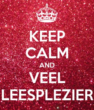 keep calm and veel leesplezier